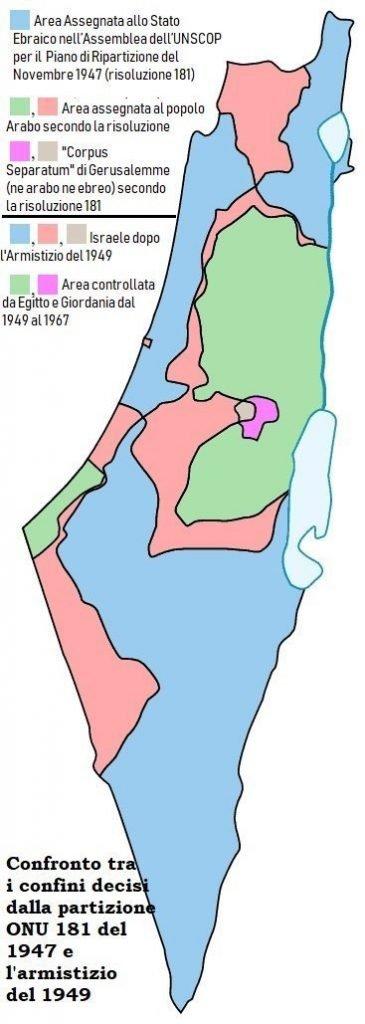 Cartina Politica Israele.Israele Dalla Nascita Del Sionismo All Occupazione Della Palestina Fino All Odierna Apartheid Identita Insorgenti