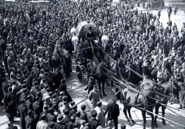 I funerali di Giorgio Ascarelli del 13 marzo 1930